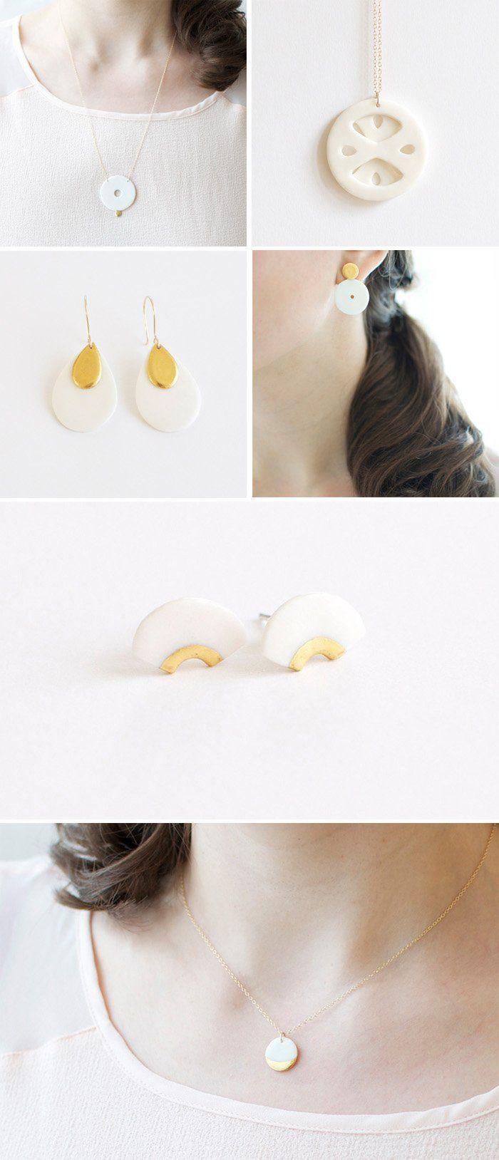 bijoux porcelaine By Loumi