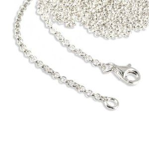 SilberDream Charms Necklace 925 Sterling Silver 21.7 inch original Charm Collection Necklace for Charm Pendants FC002955-1 SilberDream Charms. $15.95. Save 27%!