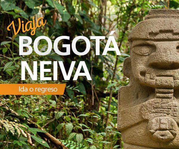 Viaja directo con #EasyFly #Bogota #Neiva con 3 vuelos diarios durante toda la semana. Haz tu compra en www.easyfly.com.co  con las mejores tarifas de EasyFly, teniendo como llegada o salida el Aeropuerto Benito Salas en Neiva.