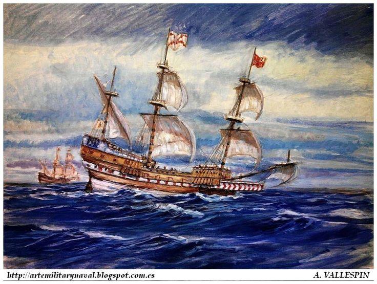#GaleonSanJose Pintura Militar y Naval: Galeón San Martín