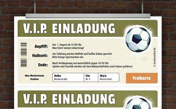 VIP Fussball Ticket