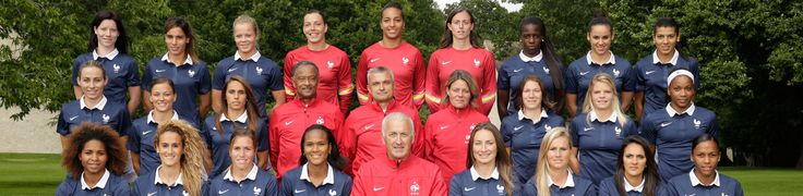 French National Women's Football Team.
