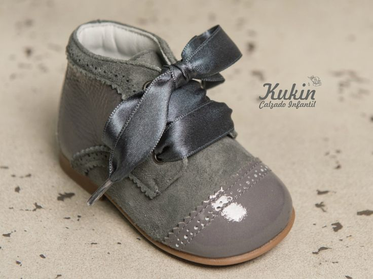 botas niña online - botas niño online - botines Landos -zapatería infantil Kukin - botas landos gris - moda infantil