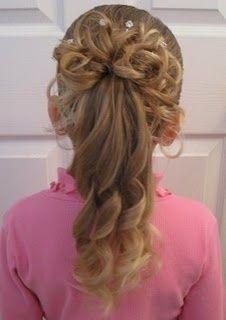 Beautiful hair style!