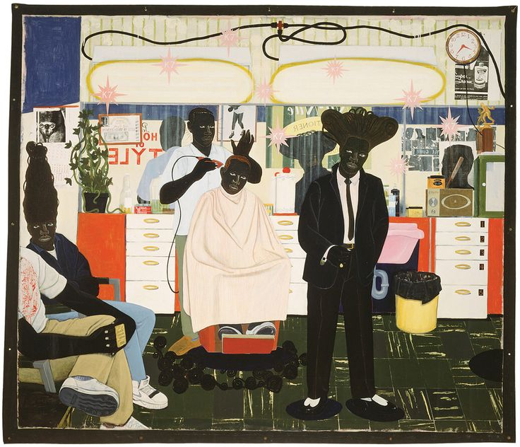 Kerry James Marshall http://www.canadianart.ca/art/preview/index1.html