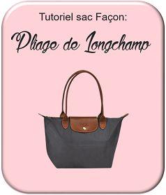 "Tuto grand sac façon ""Pliage"" de Longchamps"