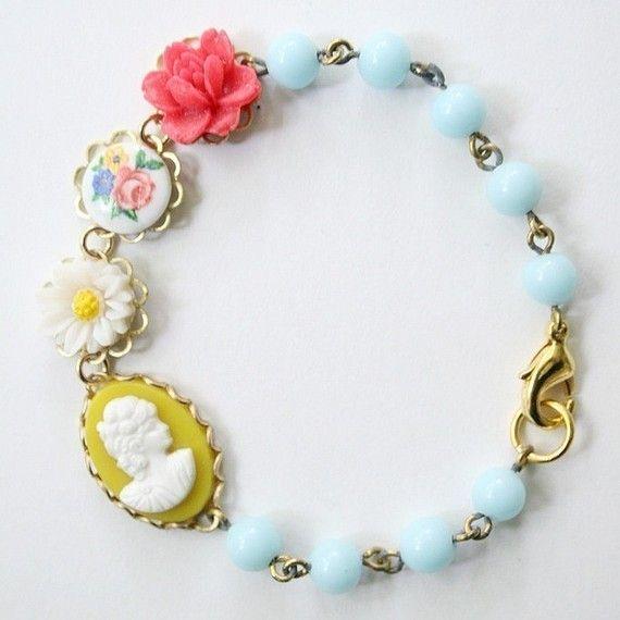 Rosy Charm Bracelet...so pretty