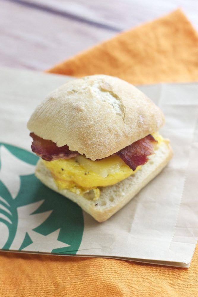 7. Copycat Starbucks Breakfast Sandwiches #breakfast #sandwich #recipes http://greatist.com/eat/healthy-breakfast-sandwich-recipes