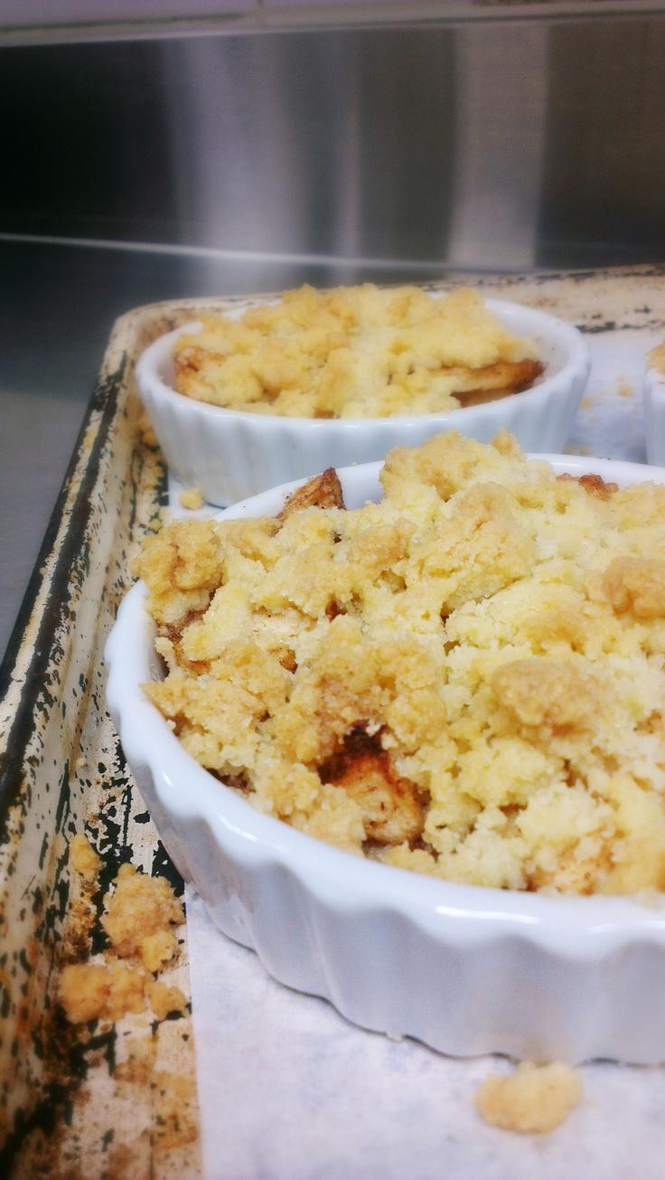 Homemade Apple crumble | Sunday Roast | Pinterest