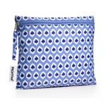 RuMe Aqua Ikat Baggie. Holds so much - I have loads of RuMe Baggies and use them daily!