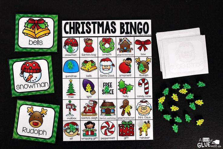 Free Printables Bilingual Christmas Bingo Christmas