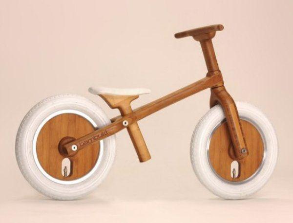 Duits design, loopfiets van bamboo - Moodkids | Moodkids