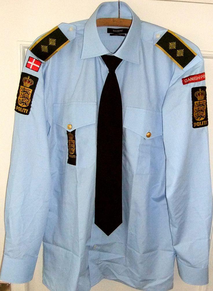 https://flic.kr/p/frGHS5   Dansk Politi Uniform,Dänische Diensthemd Polizei Uniform   Diensthemd Dänische Polizei