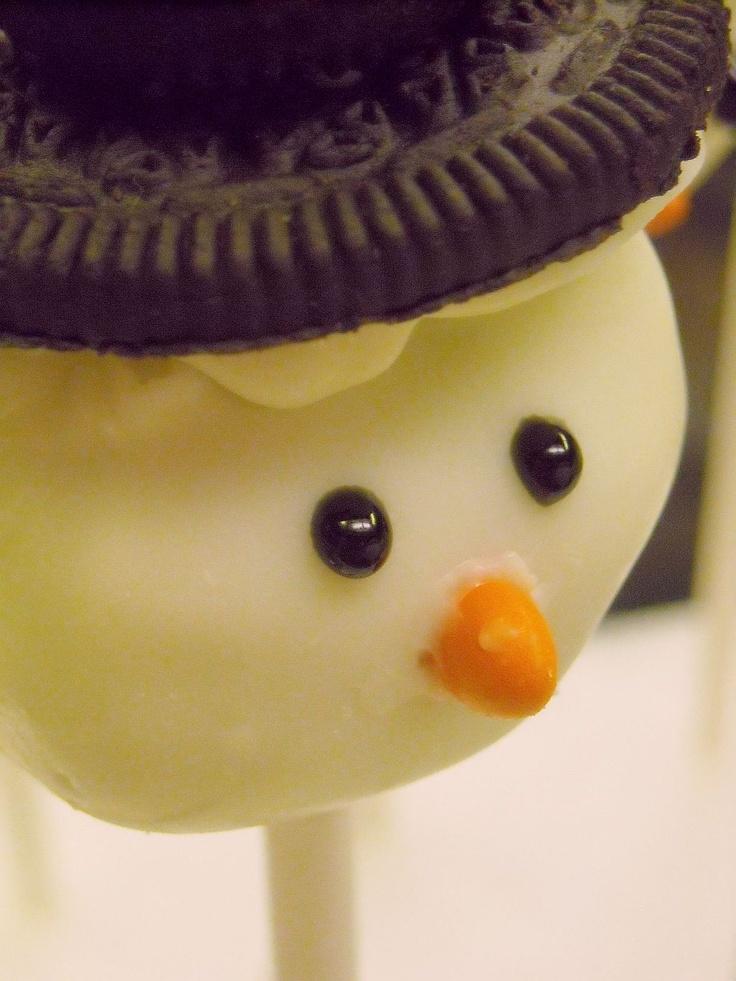 78 best Snowman desserts images on Pinterest   Xmas ...