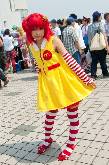 Cosplay, just a McDonald's themed costume?