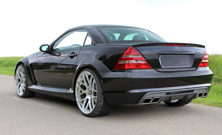 Mercedes-Benz SLK 32 AMG (R170) by Lumma Tuning ‹ AutoNews – Cars, tuning, news, premieres. Specifications, photos, description