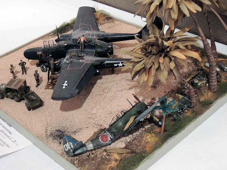 P-61 Black Widow Model Instructions