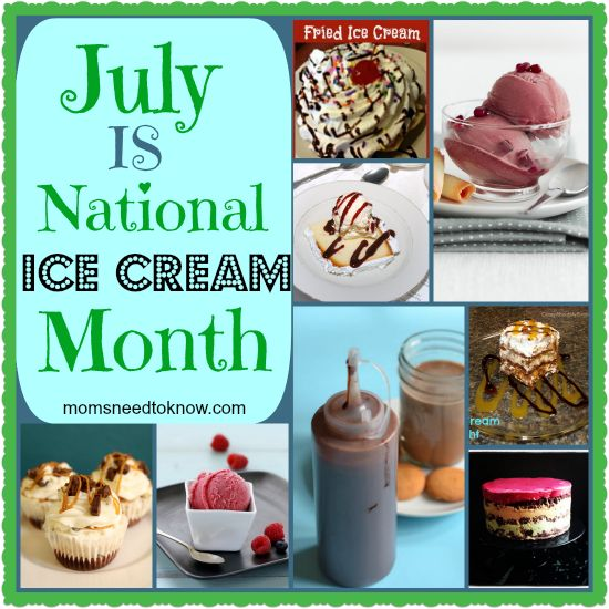 Did you know that July is National Ice Cream month? I don't know about you but I'm very excited about this. Ice cream is a family favorite in my household. I can't wait to spend July trying out all different types of ice cream! 10 Recipes to Help You Celebrate National Ice Cream Month 1....Read More »