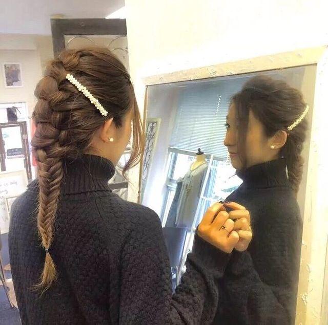 《Staff HairArrange》人気の【フィッシュボーン】