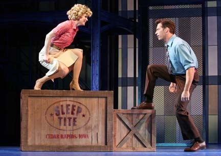 The Pajama Game Revival - Kelli O'Hara and Harry Connick Jr. // This freaking musical though. ❤
