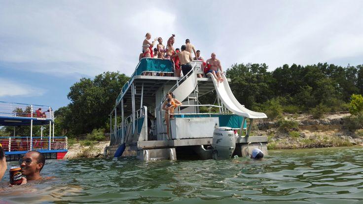 conroe party boat rental