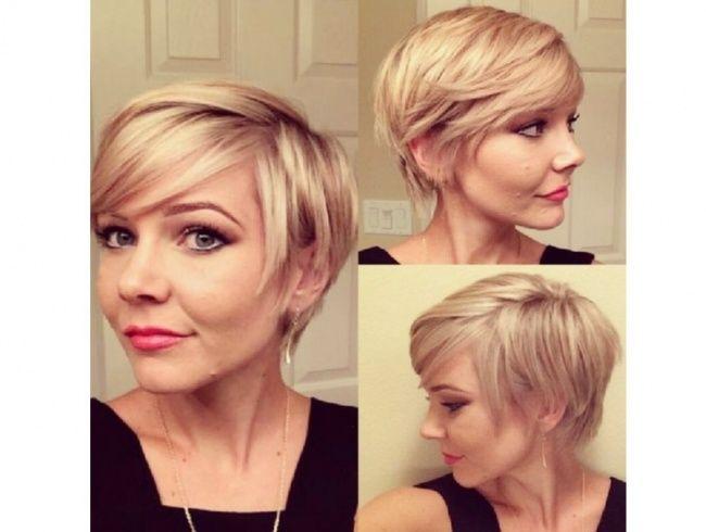 Znalezione obrazy dla zapytania krótkie fryzury damskie