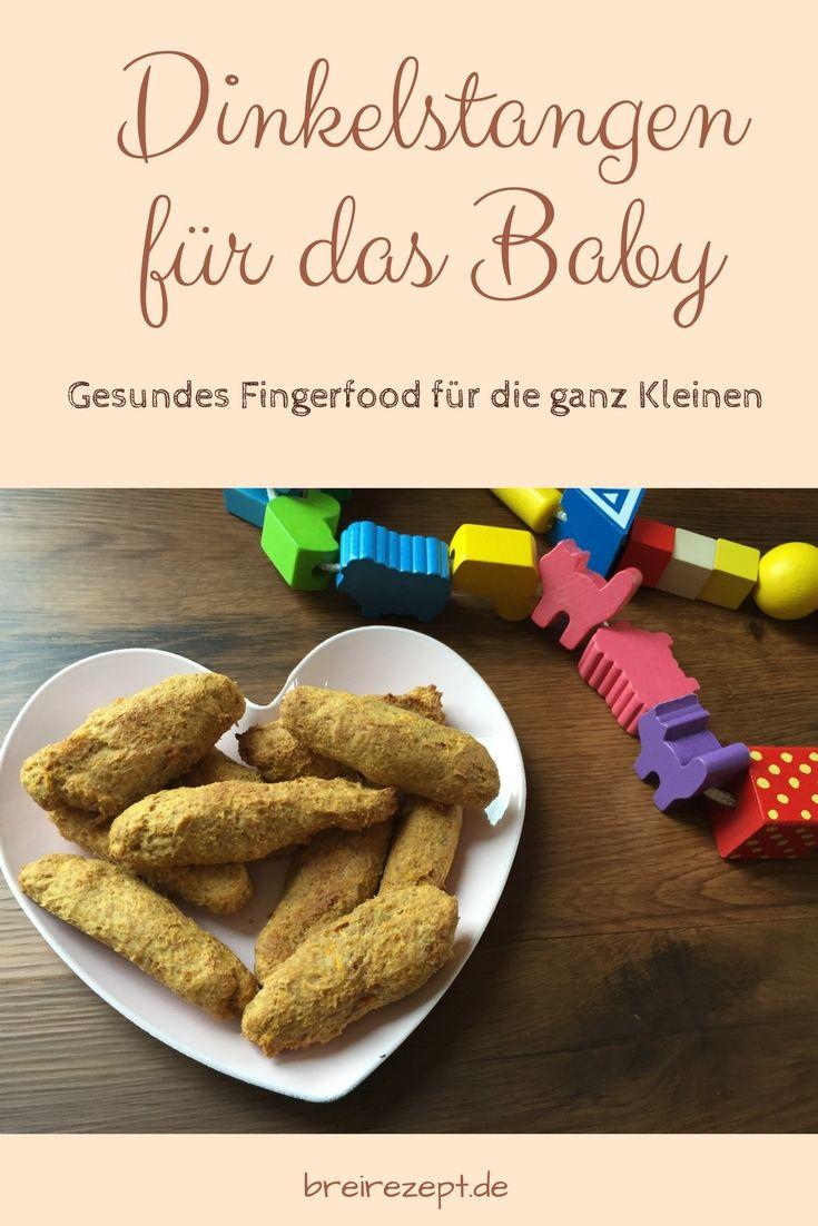 Dinkelstäbchen ohne Zucker   – Baby Led Weaning Rezepte