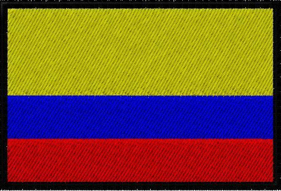 OMLpatches.com - Columbian Flag Patch, $7.99 (http://www.omlpatches.com/columbian-flag-patch/)