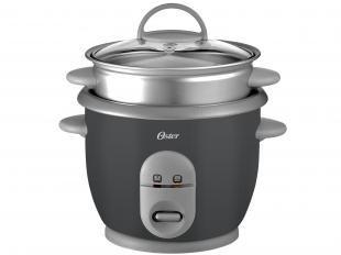 Panela de Arroz Elétrica Oster até 3 Xícaras - c/ Acessório p/ Cozinhar Legumes - 004722