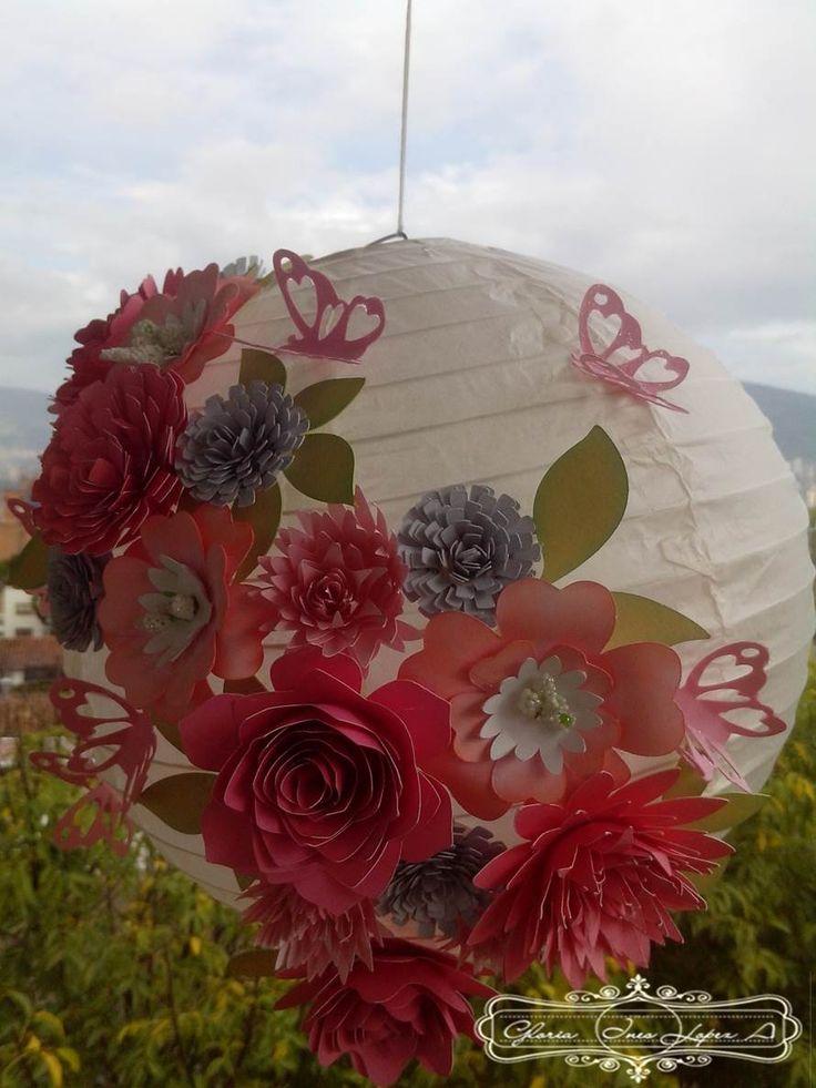 decoracion jardin flores