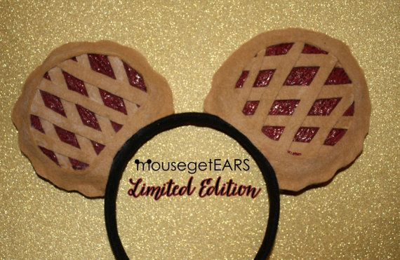 Need  Limited Edition Pie Inspired EARS by MouseGetEars on Etsy