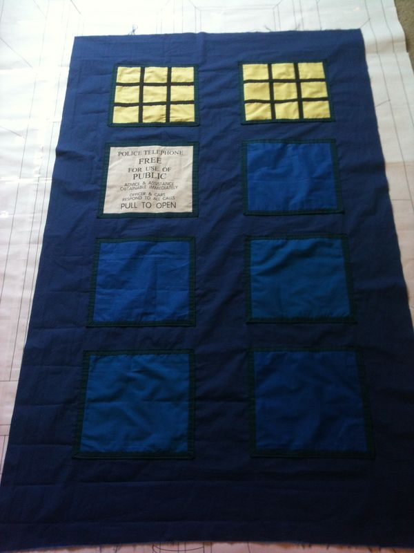 Dr Who quilt!
