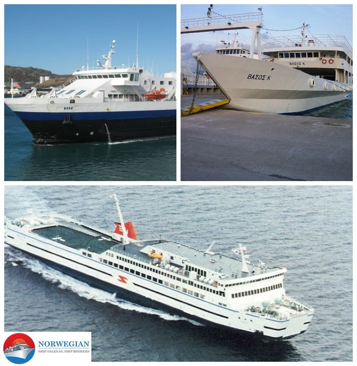 Nor ship sale, a reputed ship brokering company serving the shipping market with ferries, cruise and roro vessels sales and purchase. Call at  +47 6754 1925 / +47 9177 6183  Visit- www.norshipsale.com