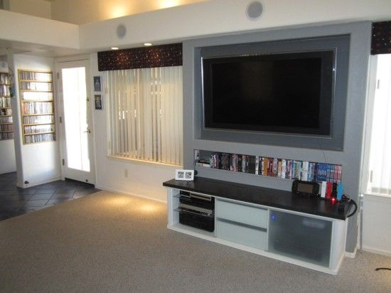 TV Entertainment Unit for Electronics (hide the cables)