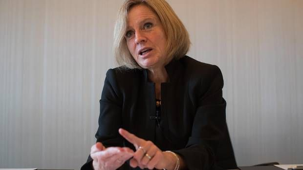 Pipeline protests won't change decision to proceed, Notley says - The Globe and Mail