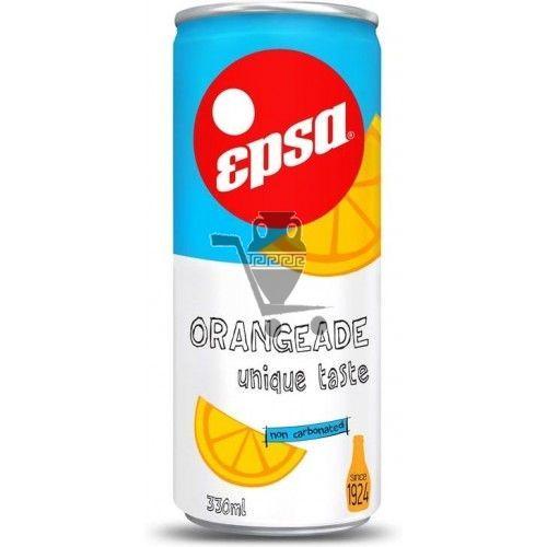 EPSA негазированный напиток, портокалада 330 мл (4 шт)
