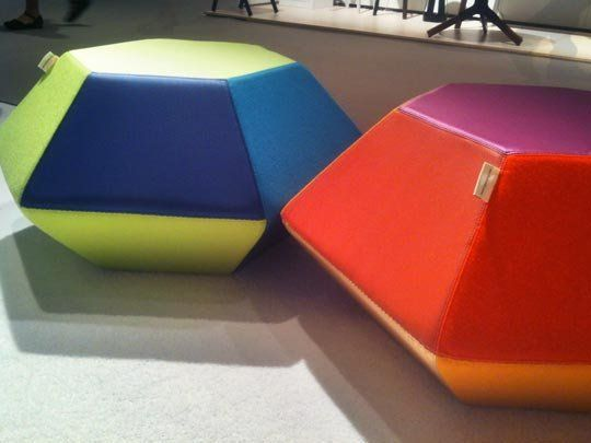 Colorful & Playful Seating by Iglooplay  ICFF 2012
