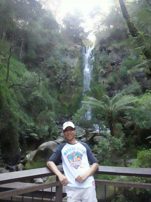 Action! Erskine Falls, Otway National Park