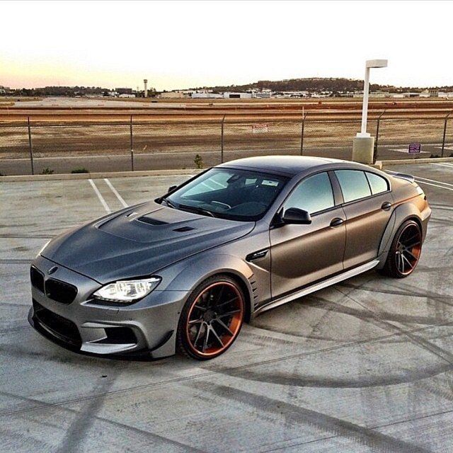 BMW M6. I'll take one please.  Photo by: @priordesignusa