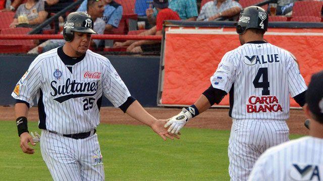 Sultanes de Monterrey superaron a Leones de Yucatán en el primer juego de la serie.