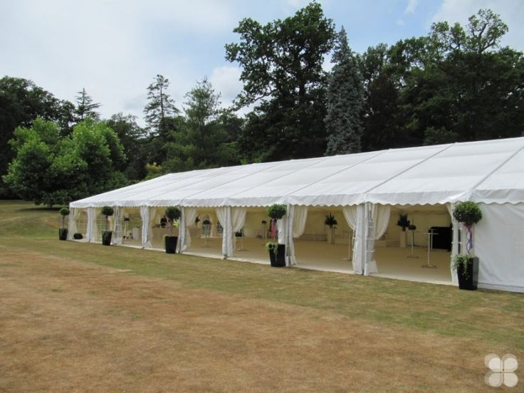 Open sided marquee