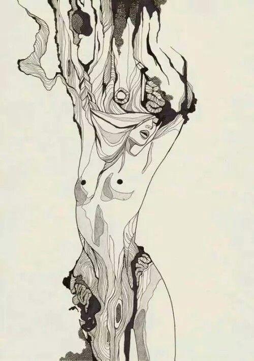 Woodgrain girl.