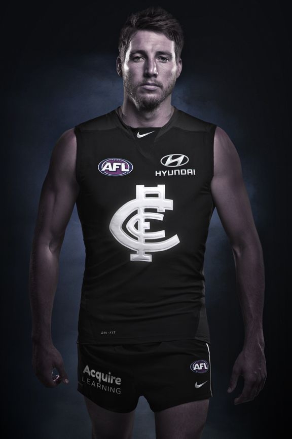 Two years in the making and weighing just 165 grams, Carlton's 2014 guernseys are 40% lighter than the previous uniform.