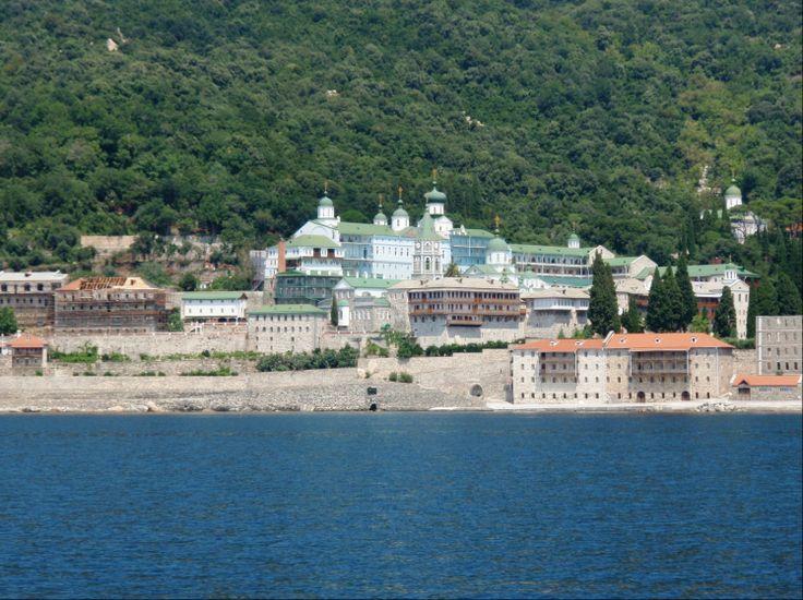 HALKIDIKI - Mt ATHOS St Panteleimon Monastery