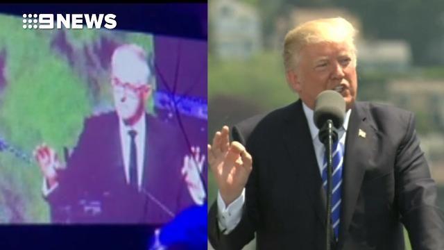 Leaked audio reveals Malcolm Turnbull roasting Donald Trump over 'fake polls' and Russia - 9news.com.au