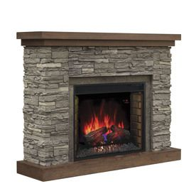 Best 25+ Lowes electric fireplace ideas on Pinterest | Fake stone ...