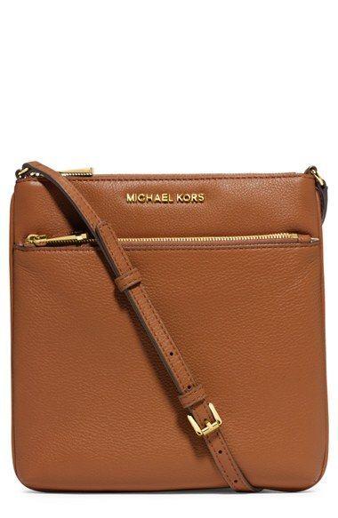 best website 9c821 7aa5d MICHAEL Michael Kors Small Riley Leather Crossbody Bag   Nordstrom