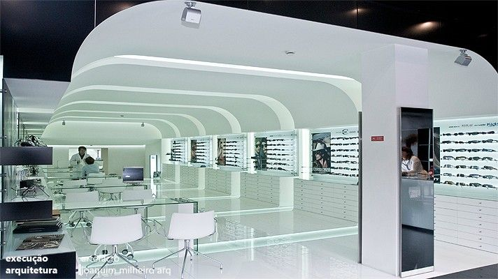Artefacto Portugal - Expositores e mobiliário de ópticas, empresa de decoração Lojas e Interiores, acrilicos, vitrines, stands oticas