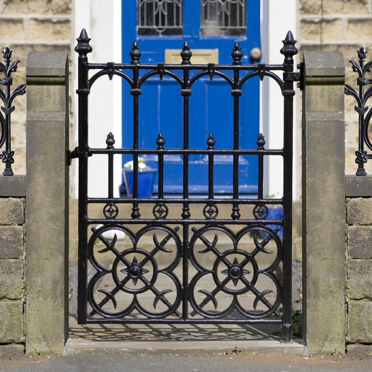 Colwyn Cast Iron Garden Gate   This Elegant, Solid Cast Iron Victorian  Garden Gate Is An Authentic Reproduction Of A Scottish Foundry Design  Dating To