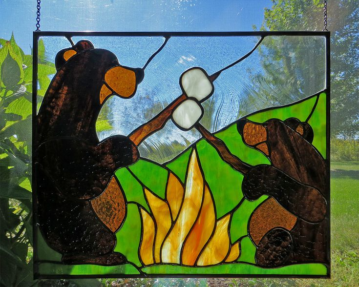 1000 Images About Stained Glass Wildlife On Pinterest